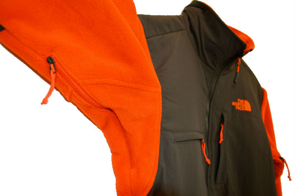 the north face denali ii jacket pocket detail