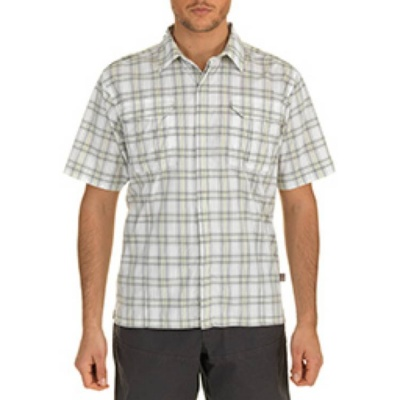 The North Face Mens Short Sleeve Ranuka Woven Shirt