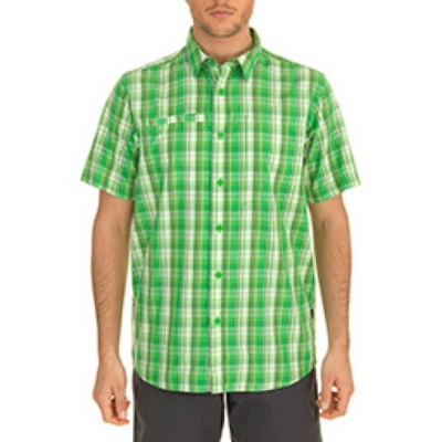 The North Face Mens Short Sleeve Curbar Woven Shirt