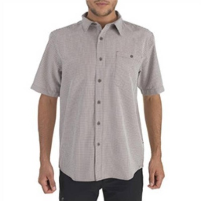 The North Face Mens Short Sleeve Stanage Woven Shirt