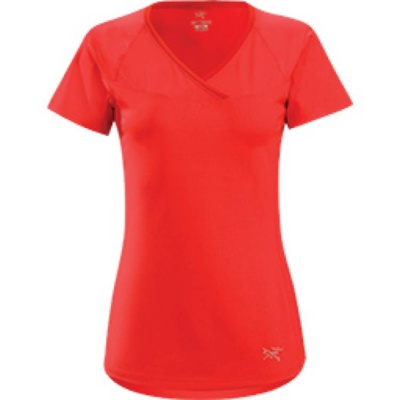 Arcteryx Womens Kapta V-Neck Short Sleeve