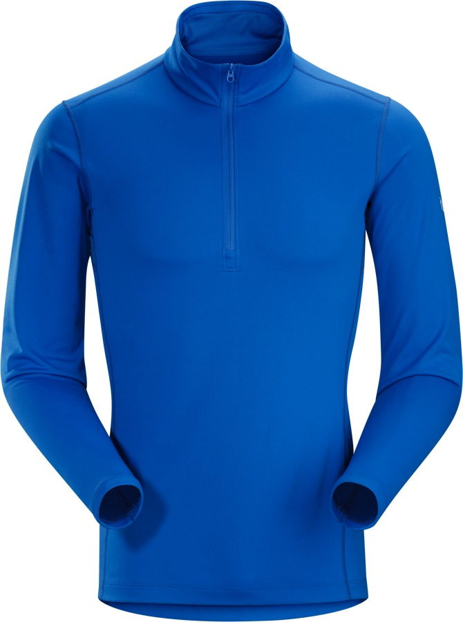 Arcteryx Mens Phase AR Zip Neck LS