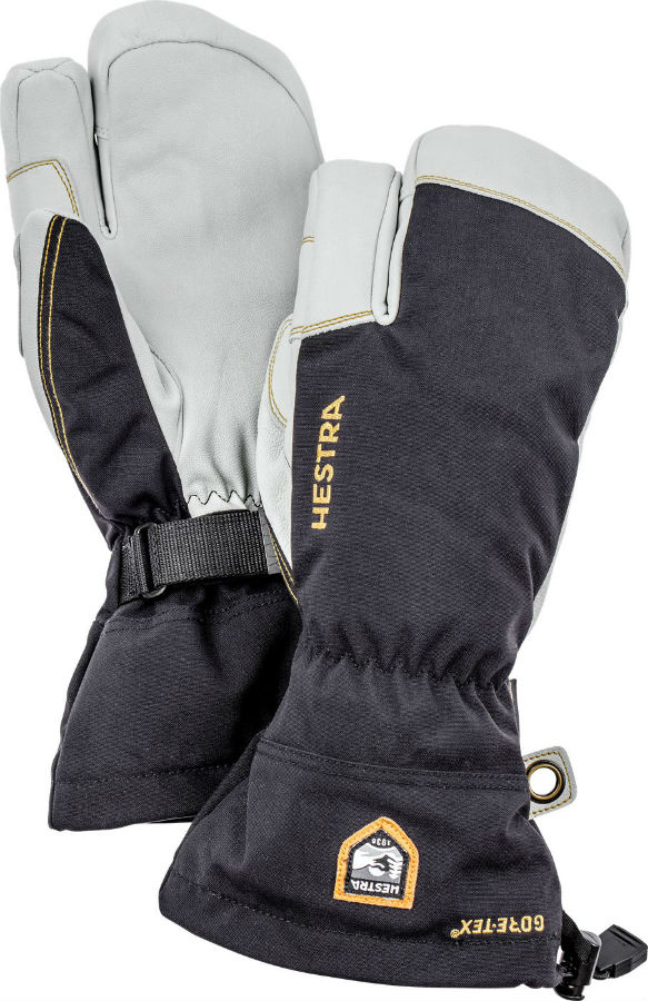 cheapest price top brands presenting Hestra Army Leather GORE-TEX 3 Finger Ski Glove | Escape 2