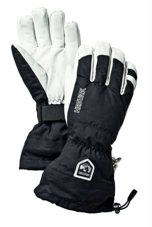 Hestra Army Leather Heli Ski 5 Finger Ski Glove