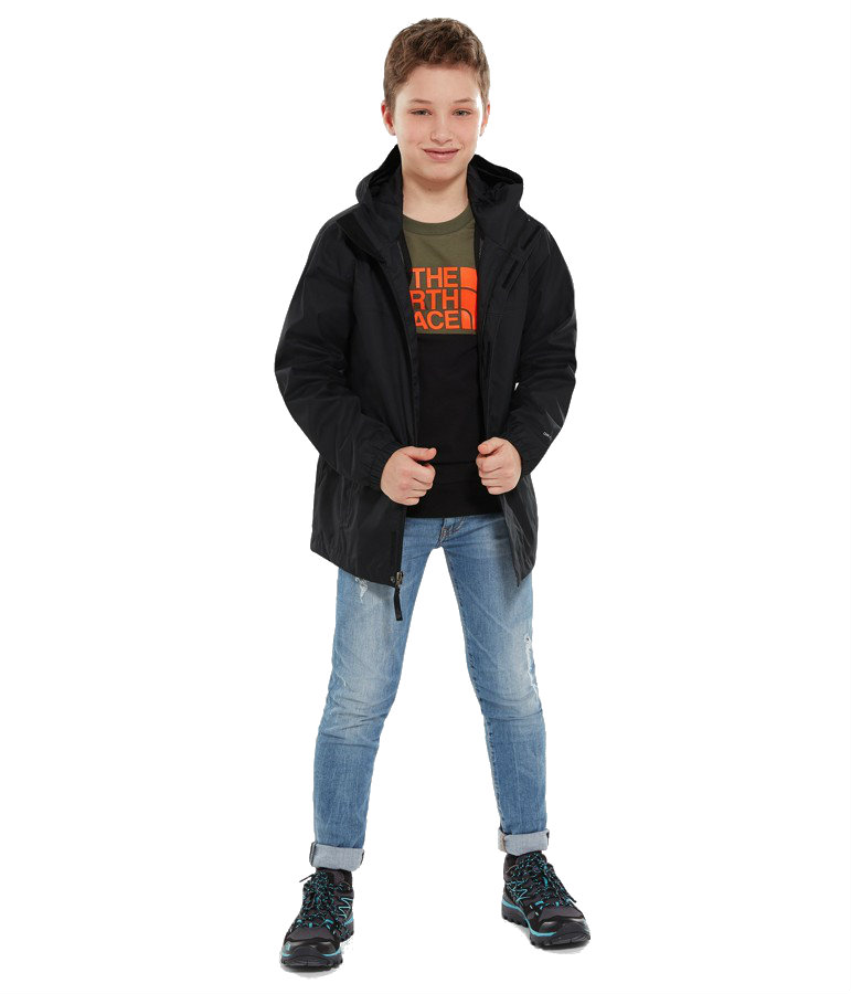 824a10f68a6 North Face Boys Resolve Reflective Jacket