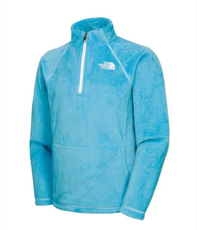 The North Face Girls Mossbud 1/4 Zip