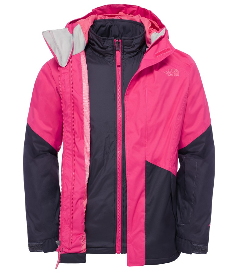 40d7e1db5 North Face Girls Kira Triclimate Jacket