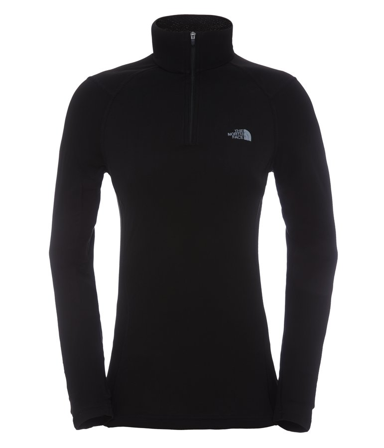 The North Face Womens Warm L/S Zip Neck