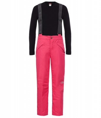 The North Face Girls Snowquest Suspender Ski Pant