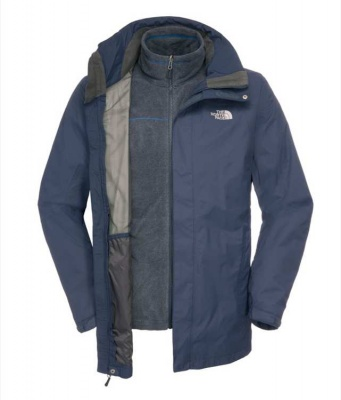 The North Face Mens Triton Triclimate Jacket