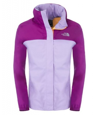 92d4542f1 The North Face Girls Resolve Reflective Jacket