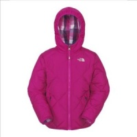 The North Face Girls Reversible Down Moondoggy Jacket