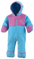 Columbia Infant Plushy Princess Fleece Bunting